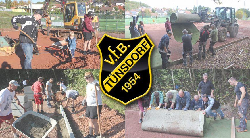 VfB Tünsdorf startet Kinderprojekt der Zukunft